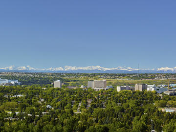 Our Calgary campus is located in the foothills of the Rocky Mountains